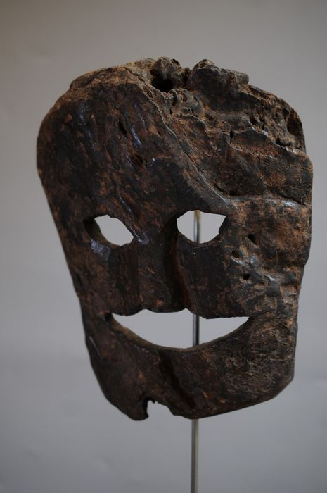 Mask - Softwood - Nepal - Mid 20th century