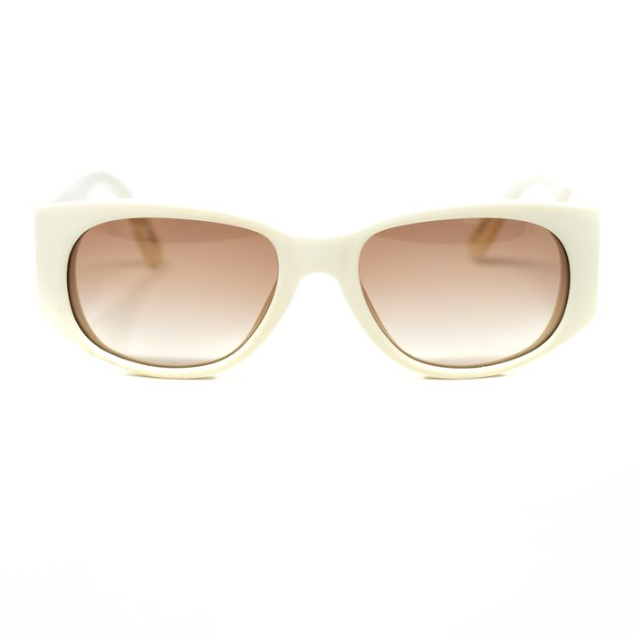 "Charles Anastase - Oval Cream with Blush Pink Lenses 8CA2C2CREAM ""NO RESERVE PRICE"" Sunglasses"