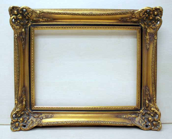 Gold Plated Painting List - Wood