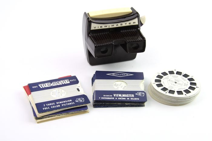 Sawyer's (View-Master) Model D met 57 schijfjes