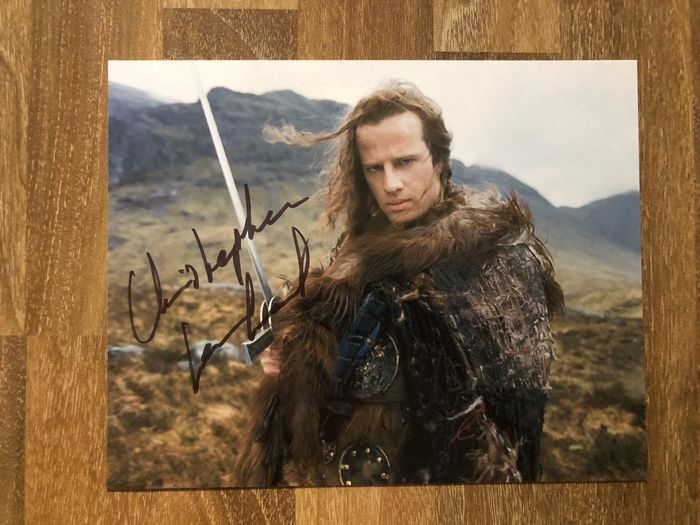 Highlander - Christopher Lambert - Autograf, Foto, Signed in Person, German Comic Con 2018.