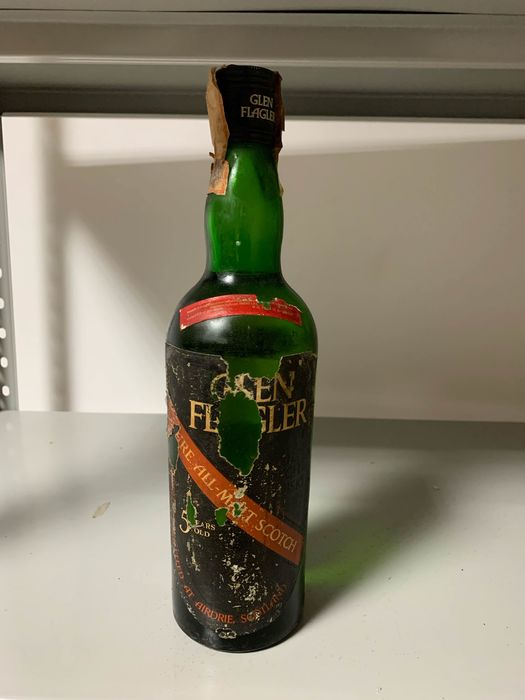 Glen Flager 5 years old - Original bottling - b. 1970s - 75cl