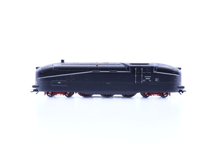 Märklin H0 - 39619 - Stoomlocomotief - BR 61 met display rails - DB