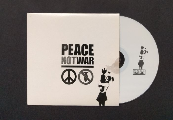 Banksy - Peace Not War Big Issue CD