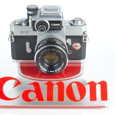 Canon FP with fp meter  Fl 50f/1,8