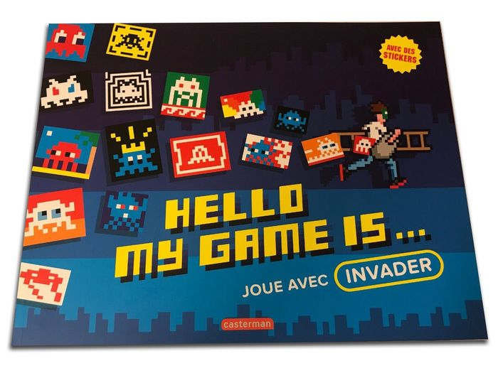 Space Invader - Hello My Name Is & Stickers - 2017