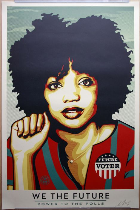 Shepard Fairey (OBEY) - We The Future - Power to the Polls