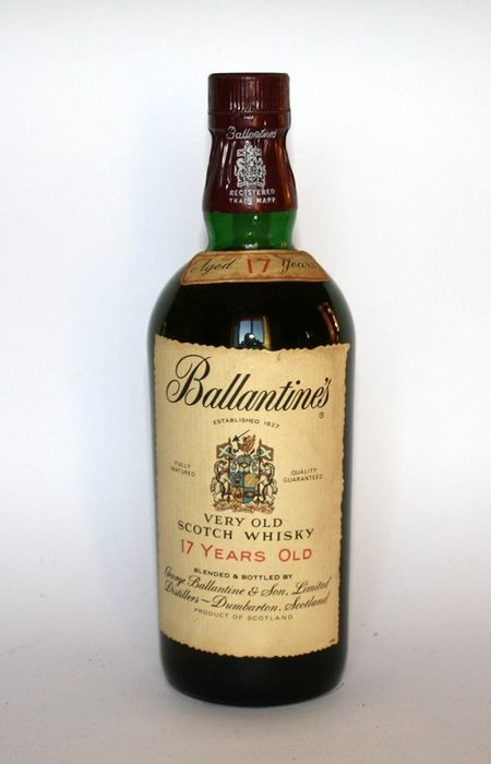 Ballantine's 17 years old - b. 1970s - 75cl