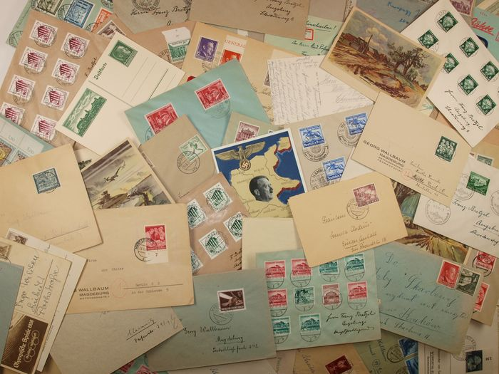 German Empire - Nice lot with documents from the German Reich and occupied territories