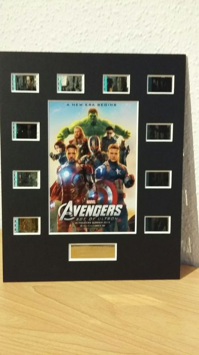 Marvel - The Avengers - Age of Ultron Film Cell Limited Edition with COA