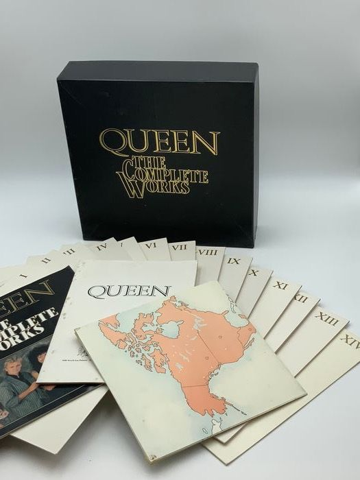 Queen - The Complete Works Limited Edition - LP Box set - 1973/1985