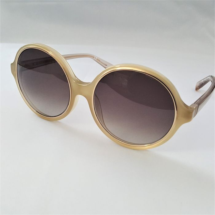 Nina Ricci - Round Gold Double Frame - Made in Italy - 2020 - New Sunglasses