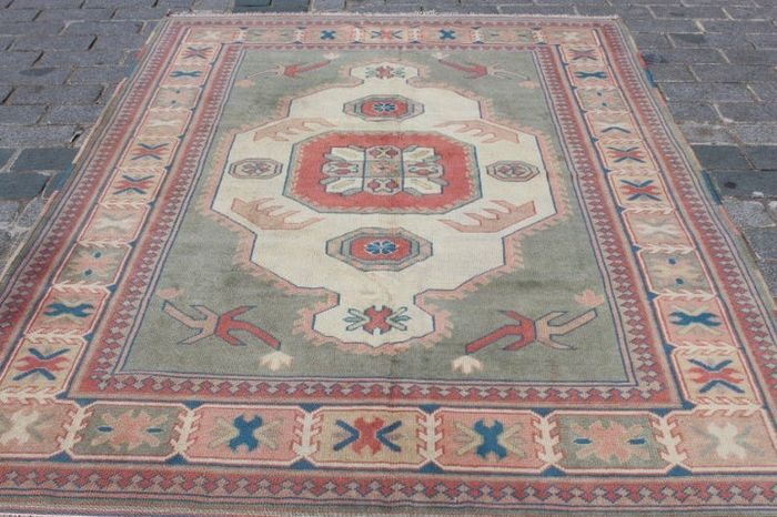 Turkish Nomadic Carpet - 262 cm - 185 cm
