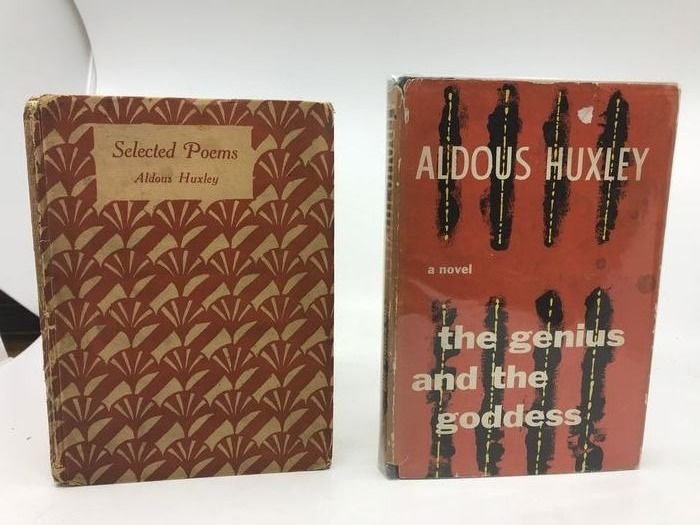 Aldous Huxley - Selected Poems + The Genius and the Goddess - 1925/1955