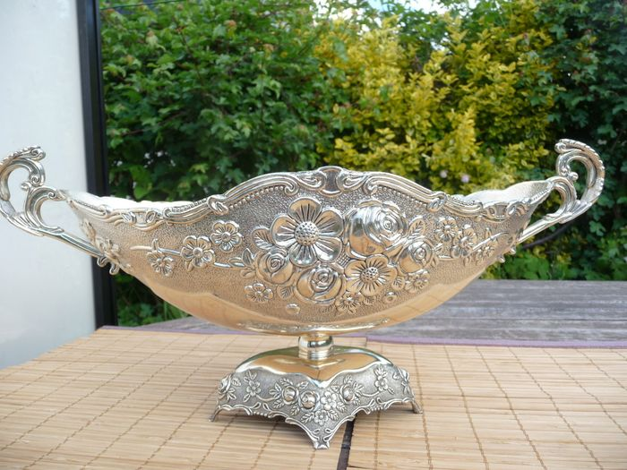 very nice silver plated serving bowl - Silver plated
