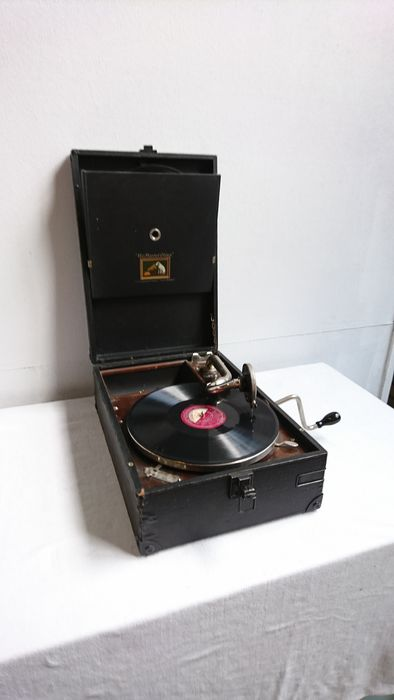 His masters voice - Onbekend (model CIOIJ, of 101 of 102?) - Gramofone 78 rpm