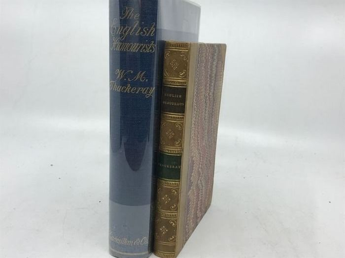 W.M. Thackeray - The English Humourists of the Eighteenth Century  - 1853/1924