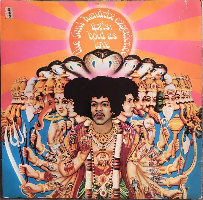 Jimi Hendrix Experience - Axis: Bold As Love. Signed By the Group !! - LP Album - 1967/1967