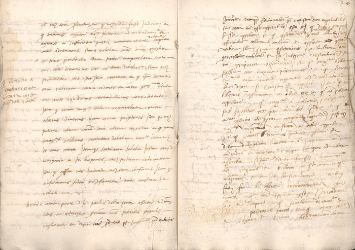 (In The Name of) Charles V of Habsburg - Original Renaissance Manuscript; Confiscation of Speciano family properties - 1540/1558