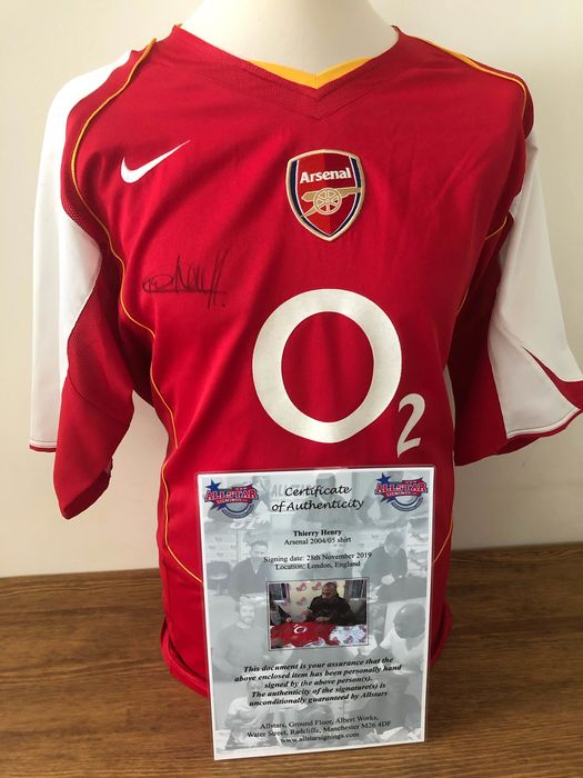 Arsenal - Premier League - Thierry Henry - 2004 - Jersey