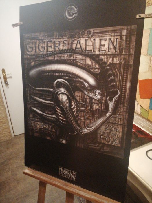Alien - H. R. GIGER - 20th Century Fox - Lithography, Poster