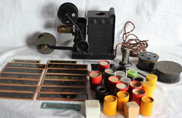 Magic Lantern / Cinematographer with many accessories - Miscellaneous