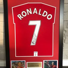 Manchester United - Champions Football League - Cristiano Ronaldo - 2008 - Jersey