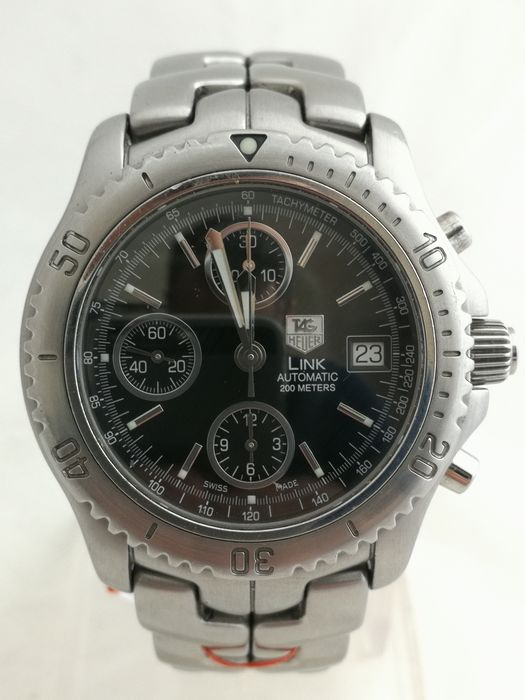 TAG Heuer - Link Chronograph - Ref. CT2111 - Heren - 1990-1999