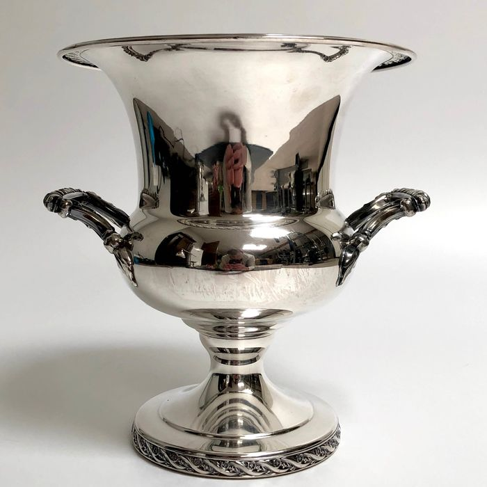WM Rogers & Sons Silvermsiths - Wine cooler - Empire - Silverplate