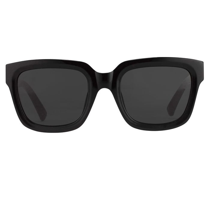 """Phillip Lim - Sunglasses with D-frame Curved Black and Black Lenses Category 4 - PL51C6SUN """"NO RESERVE PRICE"""" Sunglasses"""