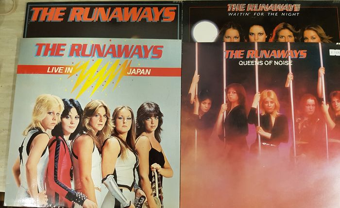 The Runaways - Multiple titles - LP's - 1976/1977
