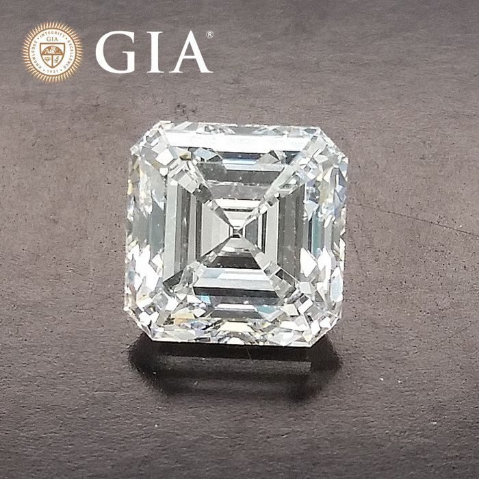 Diamond - 2.50 ct - Asscher - F - VVS2