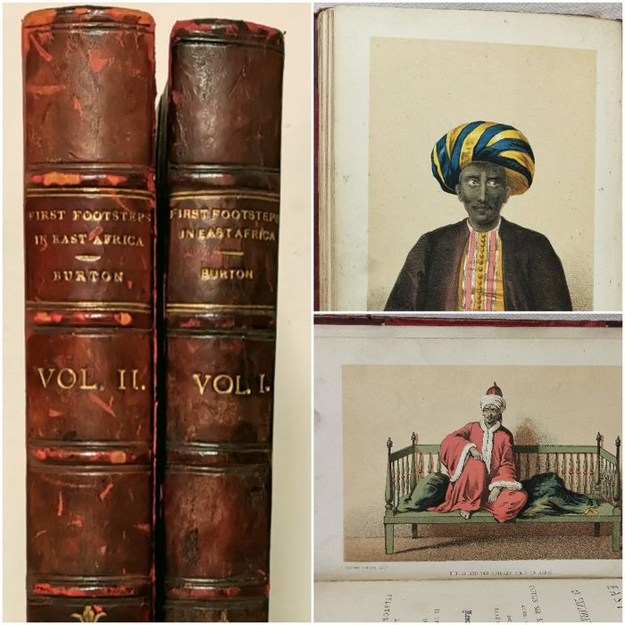 Captain Sir Richard F. Burton - First Footsteps in East Africa, or, An Exploration of Harar [Memorial Edition] - 1894