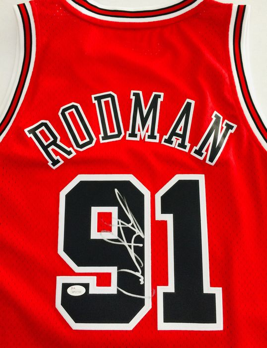 Chicago Bulls - NBA Basketball - Dennis Rodman - Jersey