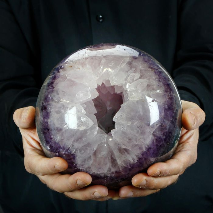 Large and Top Quality Amethyst Sphere - 180×180×180 mm - 6980 g