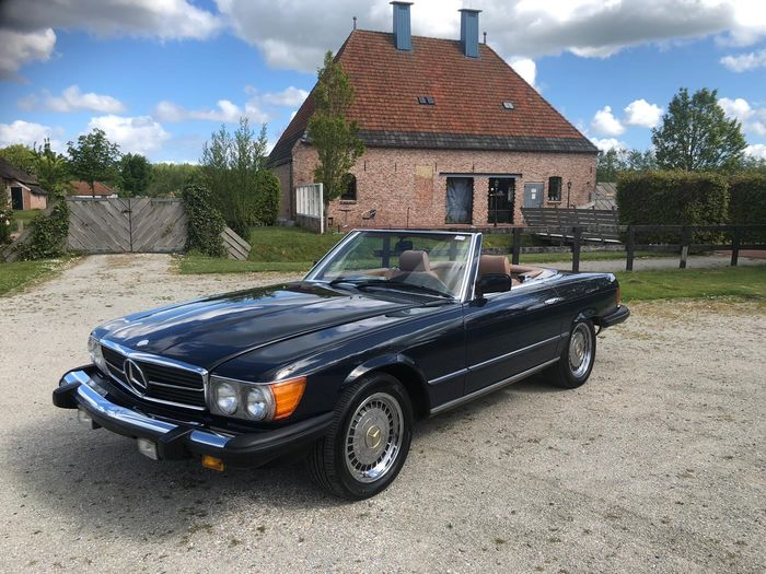 Mercedes-Benz - 380 sl - 1984
