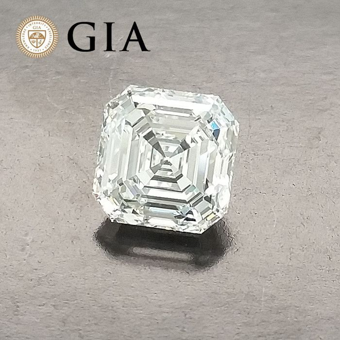 Diamond - 1.12 ct - Asscher - G - VVS1