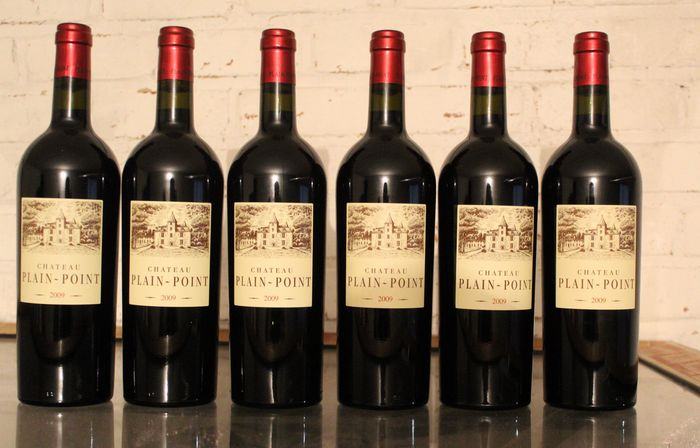 2009 Chateau Plain Point, Fronsac - Bordeaux - 6 Fles (0.75L)