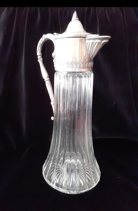 Raimond - Raimond - Raimond - Claret jug Raimond Silverplate italy - 1950s - glass (1) - Silveplate