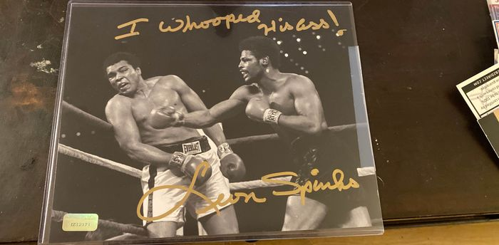 Boxing - Leon Spinks - 2019 - Autograph