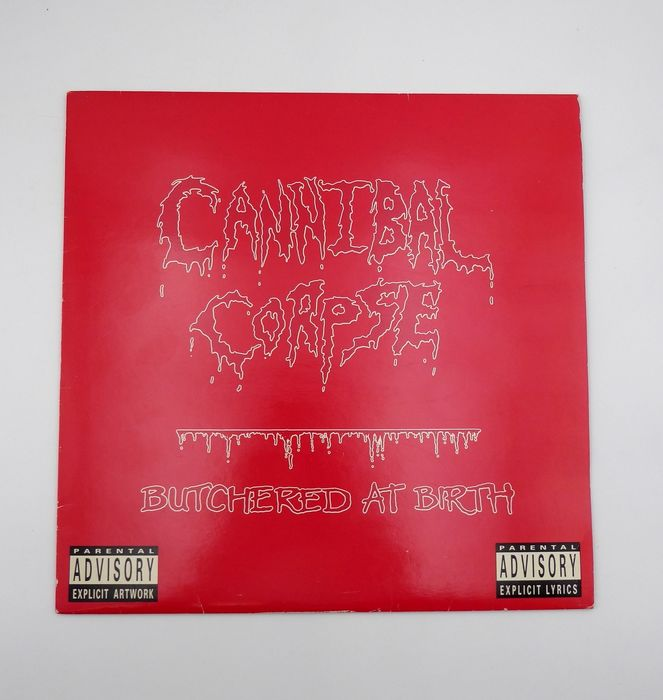 Cannibal Corps - Butchered at Birth - LP's - 1991/1991