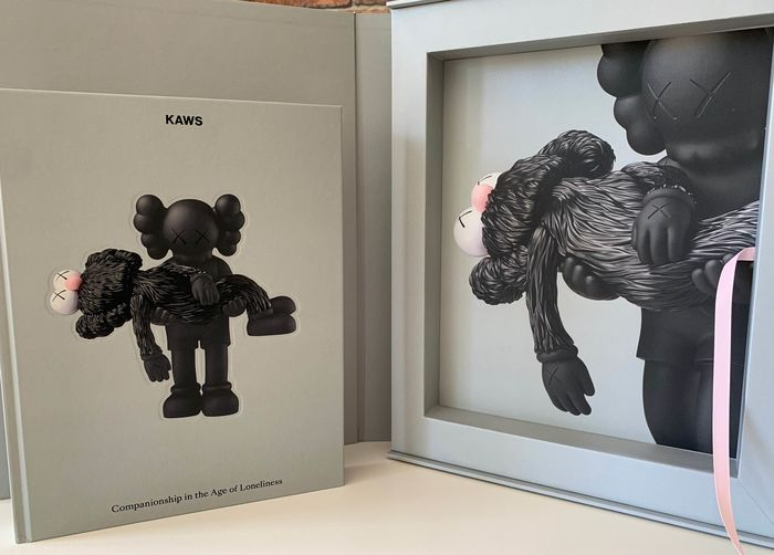 Signed; Kaws - Companionship on the Age of Loneliness - 2019