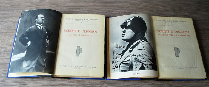 Italy - Writings and Speeches of the Duce years 1927-1928-1934-1935 - Book - 1935