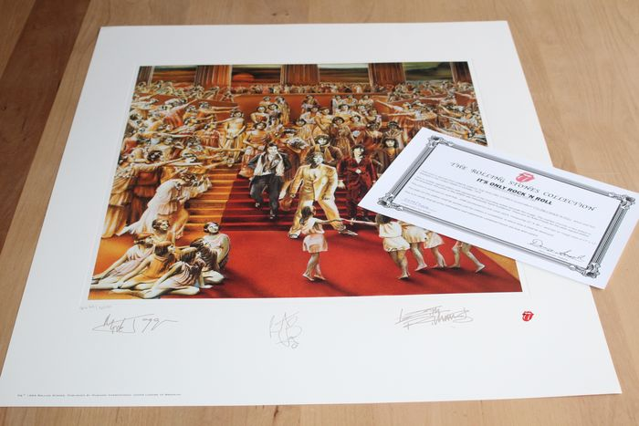 The Rolling Stones - Its Only Rock 'N Roll - Original Lithograph - 1994/1994