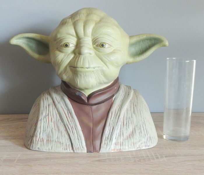 Star Wars - Master Yoda - 2005 Ceramic Cookie Jar (or for other storage use)   - Corgi Toys - Statue(s)