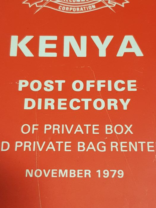 Kenya Posts and Telecommunications Corporation - Post Office Directory - 1979