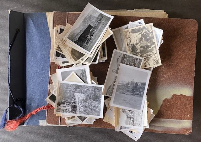 Deutsches Reich - Crew Norway about 350 pieces - 2 photo albums and single photos