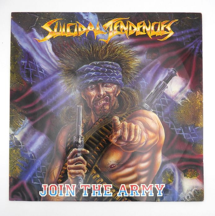 Suicidal Tendencies - Join The army - LP's - 1987/1987