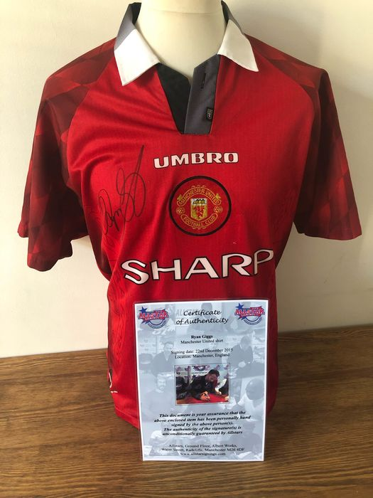 Manchester United  - Premier League - Ryan Giggs - 1996 - Jersey