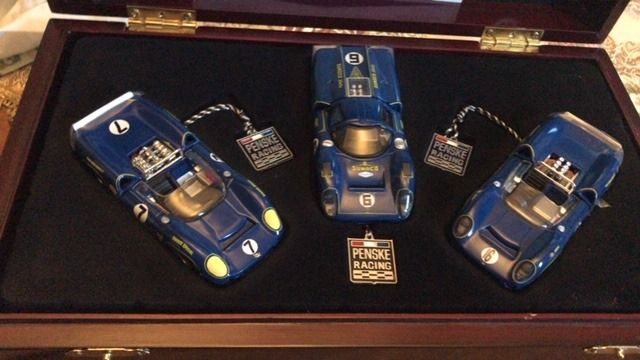 GMP - 1:43 - Set of 3 Penske Racing's Sunoco Lolas limited Edition of 2400